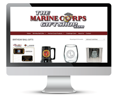 Marine Corps Ball gifts